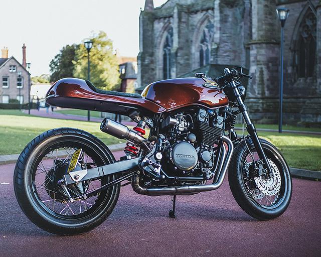 PROJECT TALOS: Honda CBX750 by Spitfire Speed Shop