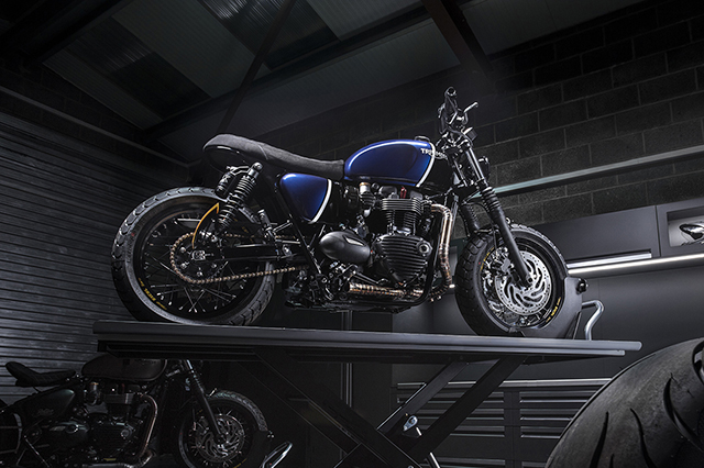 DAILY BURN: Triumph T120 by Thornton Hundred Motorcycles