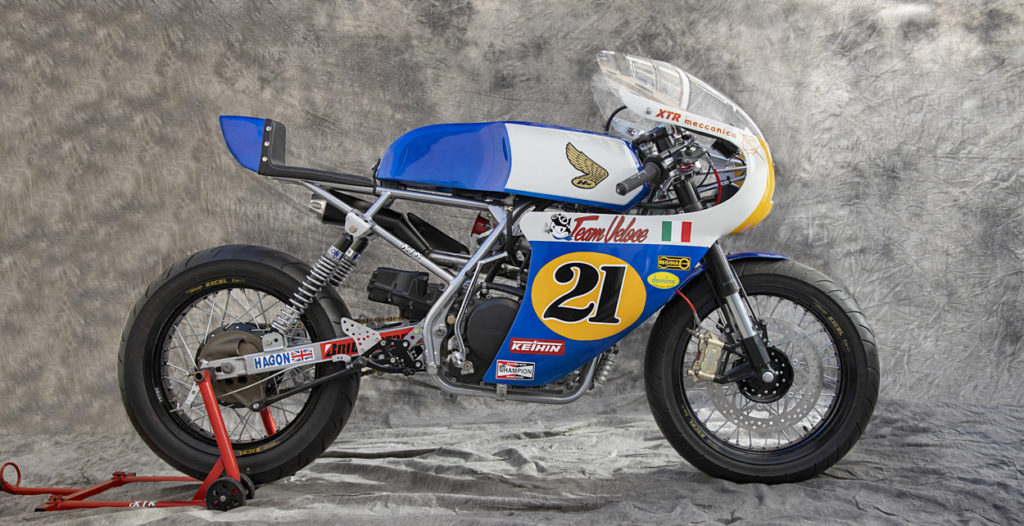 RETRO RACE REPLICA: 1990 Honda XBR500 'Imatra' by XTR Pepo.