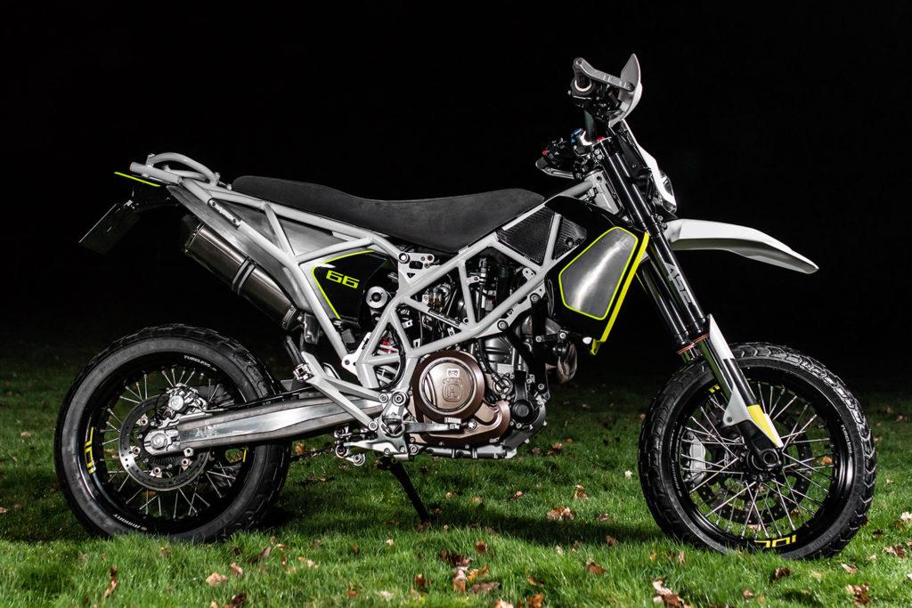 LETHAL IN LONDON: Husqvarna 701 by ASE Custom Motorcycles.