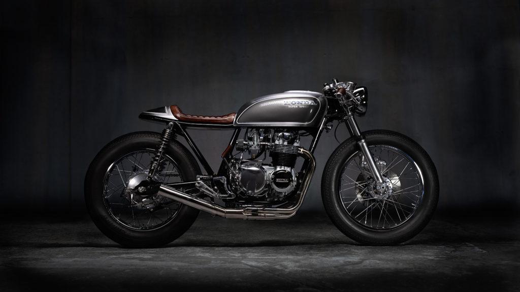 SUPER SPECIAL: 1976 Honda CB550 Café Racer by 089moto.