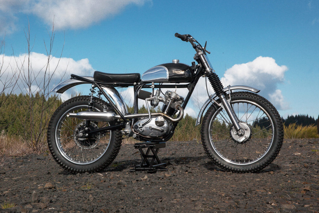 CATAMOUNT CUB: 1965 Triumph Tiger Cub by Red Clouds Collective.