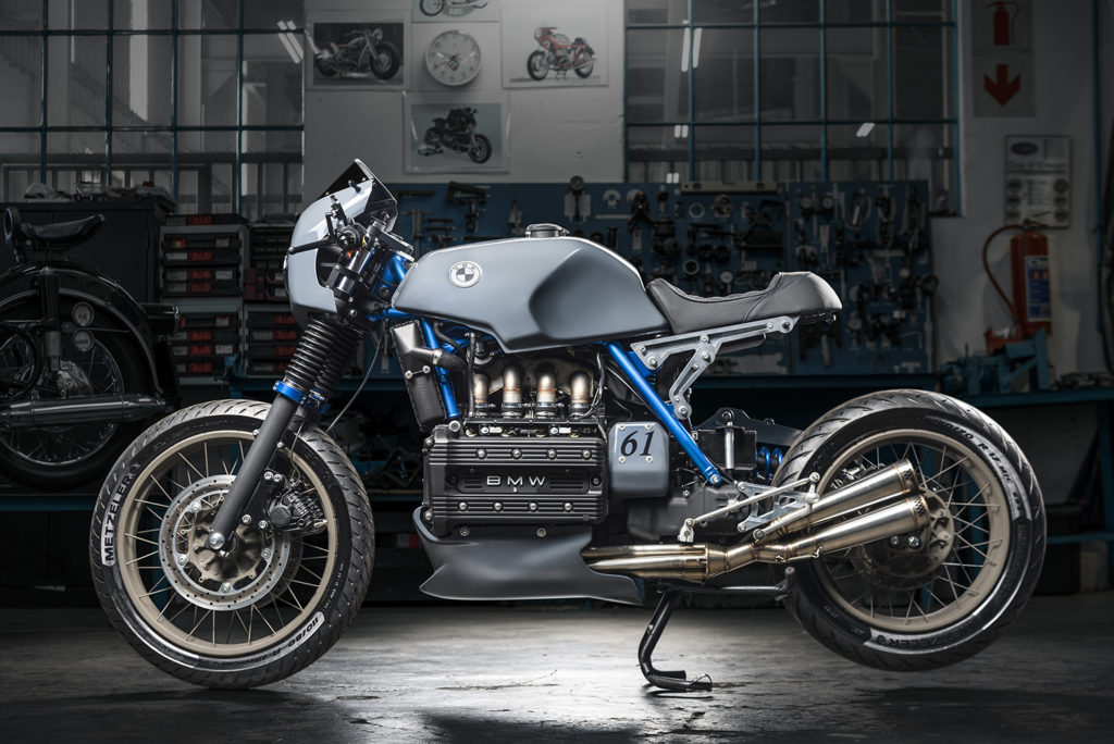 BRICK WORKS: BMW K100 by Cytech Motorcycles.