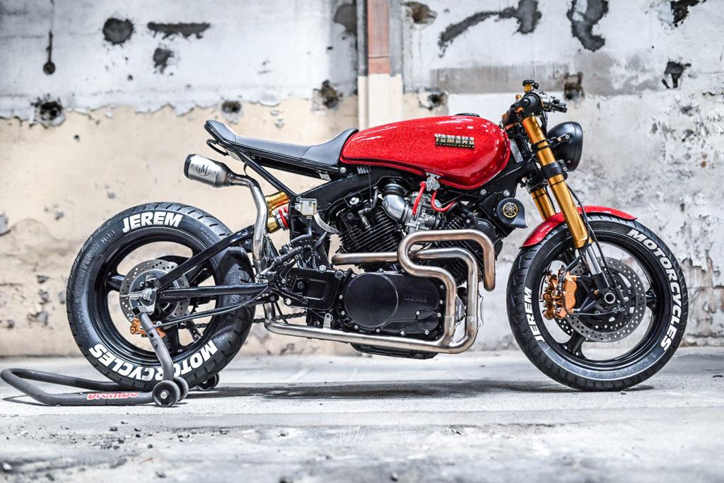 FRENCH FIGHTER: Yamaha XV1000 by Jerem Motorcycles.