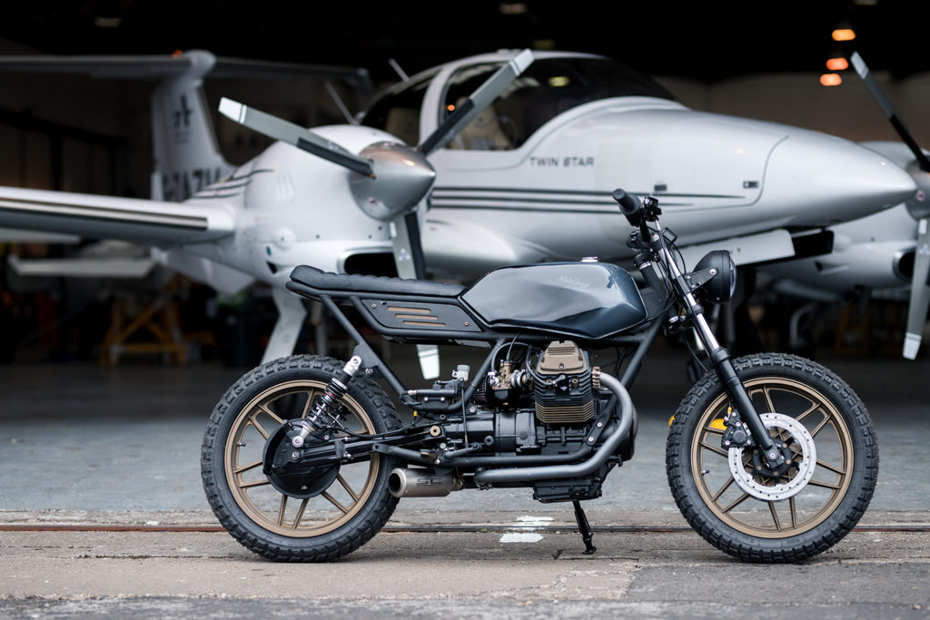 NO GUZZ, NO GLORY: Moto Guzzi V65 by JM Customs.