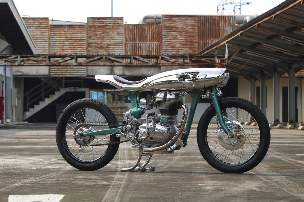 RIGHT ROYAL: 'ICARUS' Bullet 500 by Kromworks.